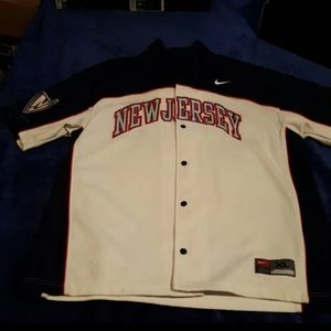 Nike NJ Nets warm-up jacket